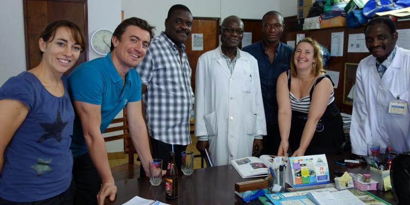 Les membres fondateurs à Lomé