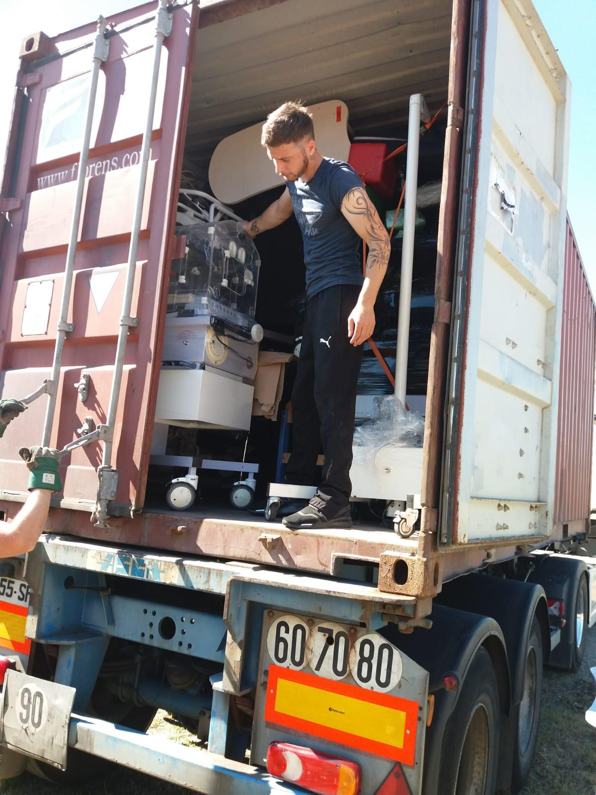 conteneur pour Lomé-2